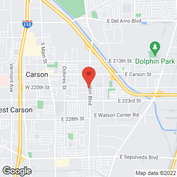 Map of Check `n Go Avalon Boulevard at 22005 Avalon Boulevard, Carson, CA 90745