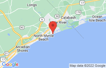 Map of North Myrtle Beach