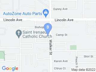Map of ABC Animal Hospital Dog Boarding options in Cypress | Boarding