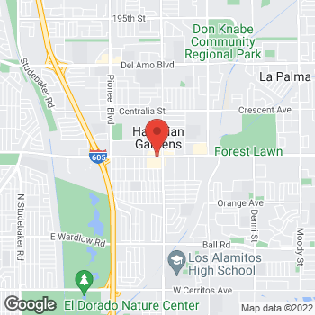 Map of Check `n Go Carson Street at 12140 East Carson Street, Hawaiian Gardens, CA 90716