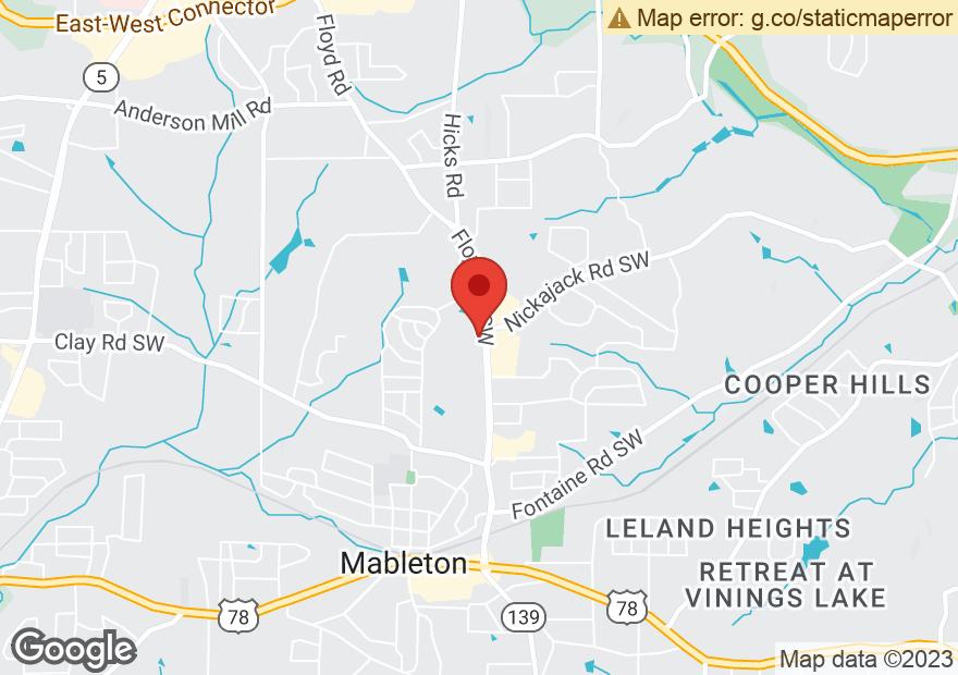 Google Map of 5000 FLOYD RD SW
