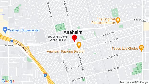 Google Map of 241 S. Anaheim Blvd., Anaheim, CA 92805