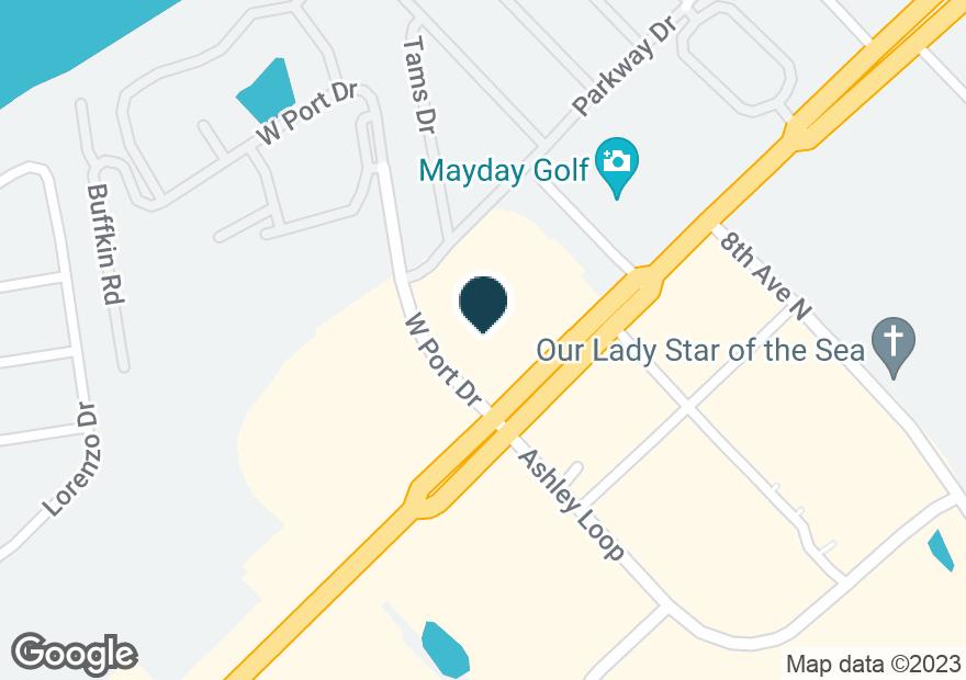 Google Map of601 HIGHWAY 17 N