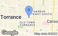 Map of Torrance, CA