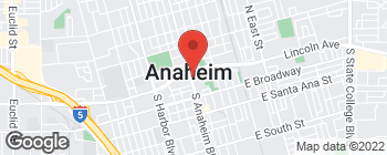 Map of 50 S Anaheim Blvd in Anaheim