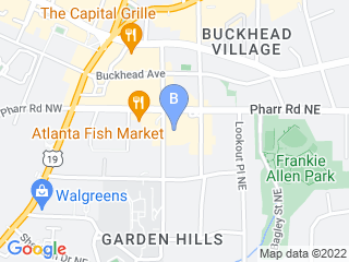 Map of Pupcakes Playcare Dog Boarding options in Atlanta | Boarding