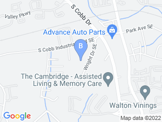 Map of Dogma Dog Care Dog Boarding options in Smyrna | Boarding