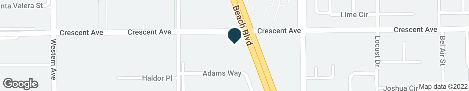 Google Map of7878 CRESCENT AVE