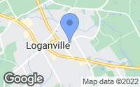 Map of Loganville, GA