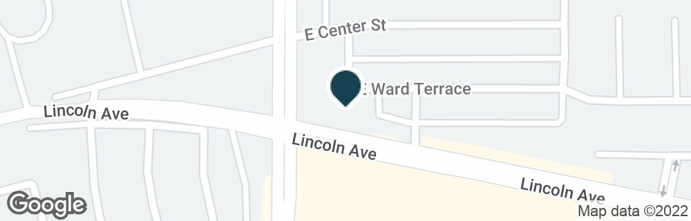 Google Map of128 S STATE COLLEGE BLVD