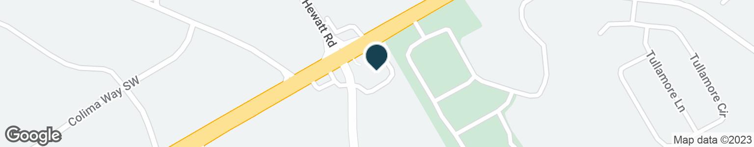 Google Map of2220 HEWATT RD