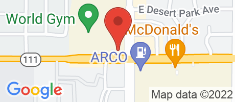 Branch Location Map - Wells Fargo Bank, Sunrise Square Branch, 1753 North Sunrise Way, Palm Springs CA