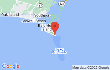 Map of Bald Head Island