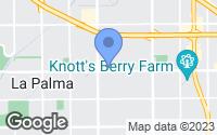 Map of Buena Park, CA