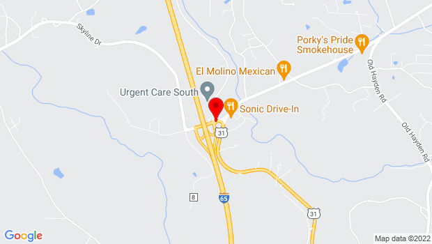 Google Map of 171 State Highway 160, Warrior, AL 35180
