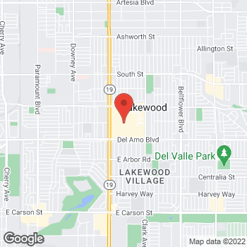 Map of G by GUESS at 500 Lakewood Center, Lakewood, CA 90712