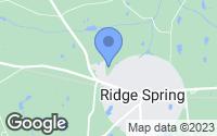Map of Ridge Spring, SC