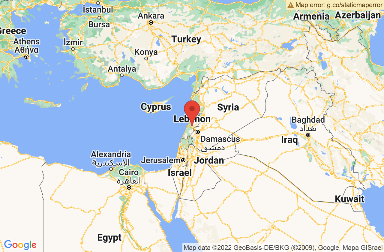 Google Map of بيروت