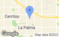 Map of La Palma, CA