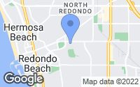 Map of Redondo Beach, CA