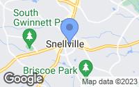 Map of Snellville, GA