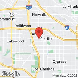 Cerritos Fire Prevention Div on the map