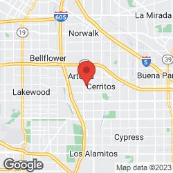 Rose Hills Arrangement Center on the map