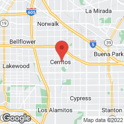 Cerritos Tailoring on the map