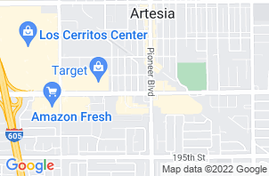 Cerritos Mattress Store Location Map
