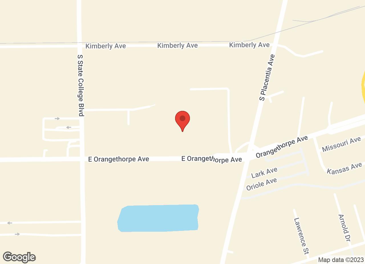 Google Map of VCA La Mirada Animal Hospital