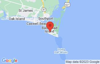Map of Bald Head Island