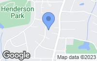 Map of Tucker, GA