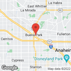 Buena Park Coordinating Council on the map