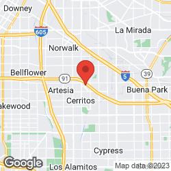 Cerritos Towne Center on the map
