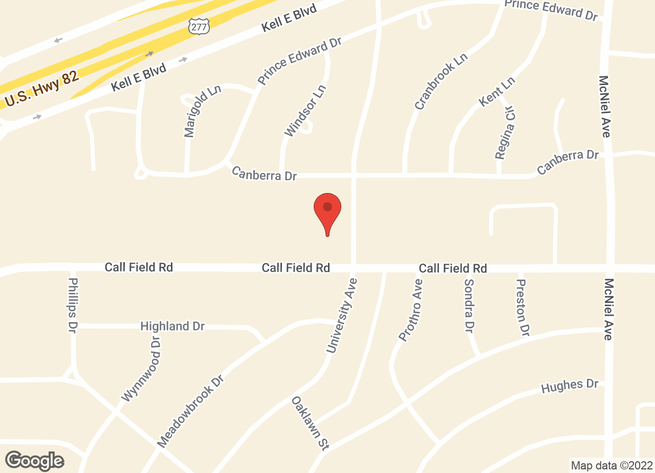 Google Map of VCA Callfield Animal Hospital