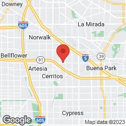 Cerritos Acupuncture Center on the map