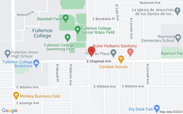 static image of 601 East Chapman Avenue, Fullerton, California