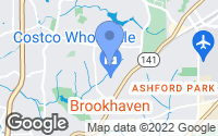 Map of Brookhaven, GA