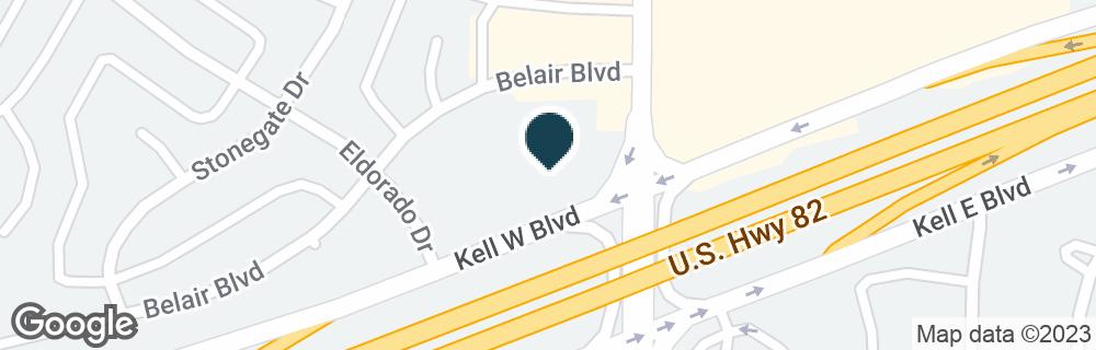 Google Map of4600 KELL BLVD