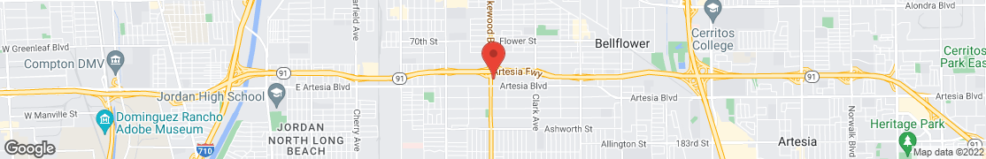 Map of 17230 LAKEWOOD BLVD in BELLFLOWER