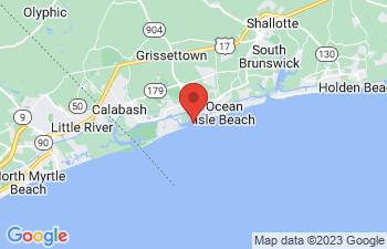 Map of Ocean Isle Beach