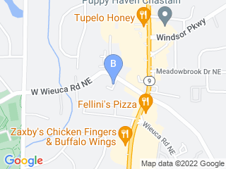 Map of Buckhead Pet Pals Dog Boarding options in Atlanta | Boarding
