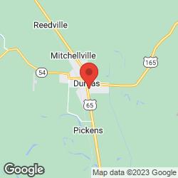 Southeast Arkansas Health Center on the map