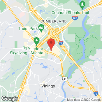 Map of Bed Bath & Beyond at 2955 Cobb Parkway, Atlanta, GA 30339