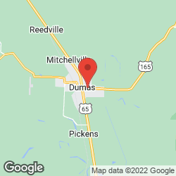 Dumas Farm and Home Center on the map