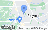 Map of Smyrna, GA