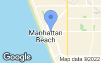Map of Manhattan Beach, CA