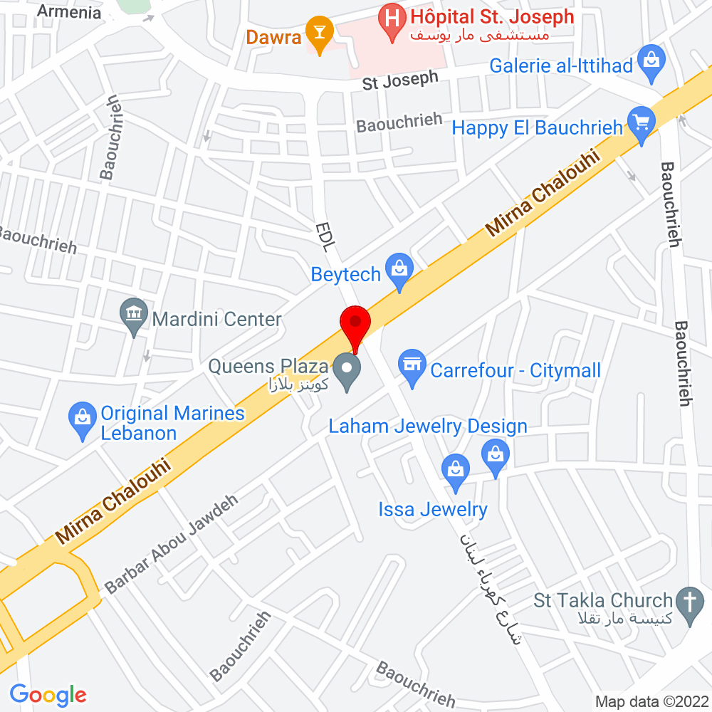 Google Map of FOO_, Beirut - Click to activate map