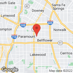 Bellflower Plumbing and Heating on the map