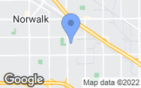 Map of Norwalk, CA